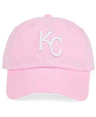 new styles a89e2 301d5 ... hat ca23f c078e  new zealand 47 brand kansas city royals pink white  clean up cap pink adjustable. 542d3