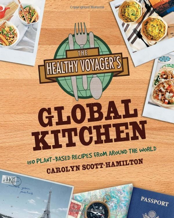 The Healthy Voyager's Global Kitchen is a collection of traditional recipes from around the world in their vegan version. There is definitely something for everybody in this cookbook. The recipes are mostly hardy dishes (I have several bookmarked for when cold weather rolls around again) that will definitely satisfy a hungry crowd anywhere in the world.