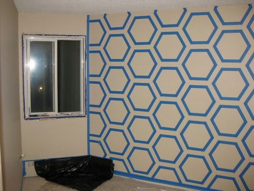 Paint Tape Design Ideas diy modern wall design with painters tape How To Make Your Own Diy Bedroom Wall Art Using Just Simple Paint Wall Designs With Tape Home Design Interior