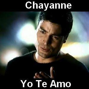 Acordes D Canciones: Chayanne - Yo Te Amo