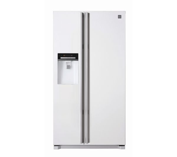 Buy DAEWOO DRX32DDLW American-Style Fridge Freezer - White | Free Delivery | Currys