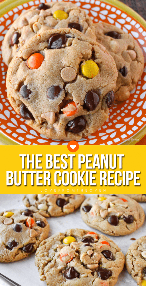 The Best Peanut Butter Cookie Recipe • Love From The Oven