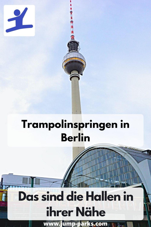 Trampolinspringen In Berlin In 2020 Trampolin Trampolin Park Trampolinhalle