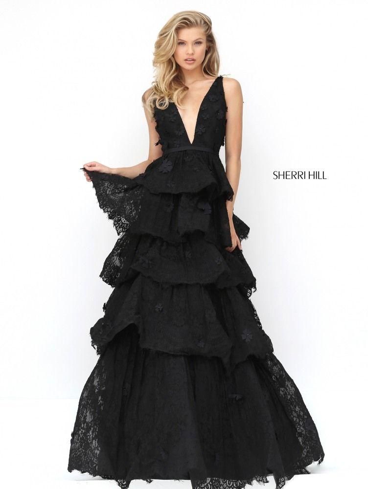 a5be4df6f9 SHERRI HILL 50789 Vestidos Largos Elegantes