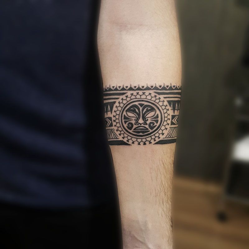 Polynesian Tattoos Tatuaje Maori Tatuaje Brazalete Maori