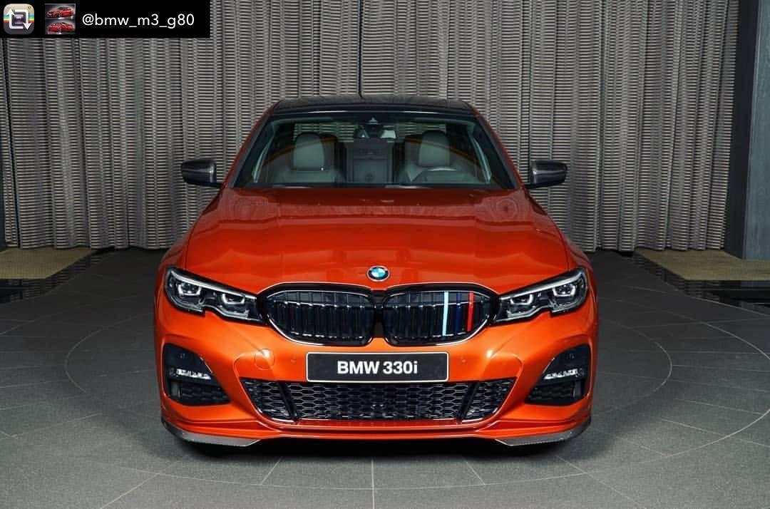 Repost From Bmw M3 G80 Bmw 330i G20 Sunset Orange 4 Cylinders Twin Power Turbo M Power Follow Bmw M3 G80 Bmw Bmw Cars Orange Car