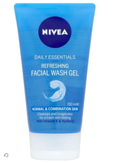 NIVEA Refreshing Face Wash Gel, 150ml in 2020 Face wash