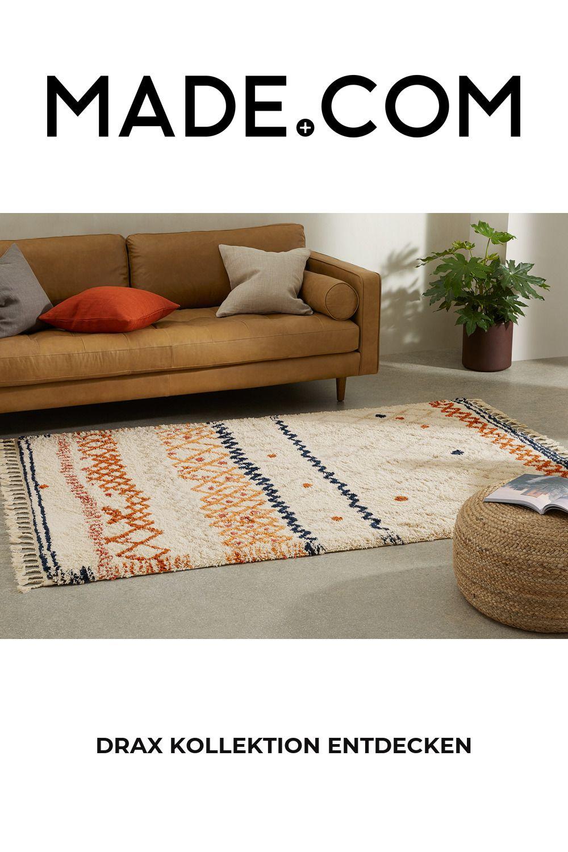 27 Drax Teppich 10 x 10 cm, Mehrfarbig   Teppich, Farbig, Farben