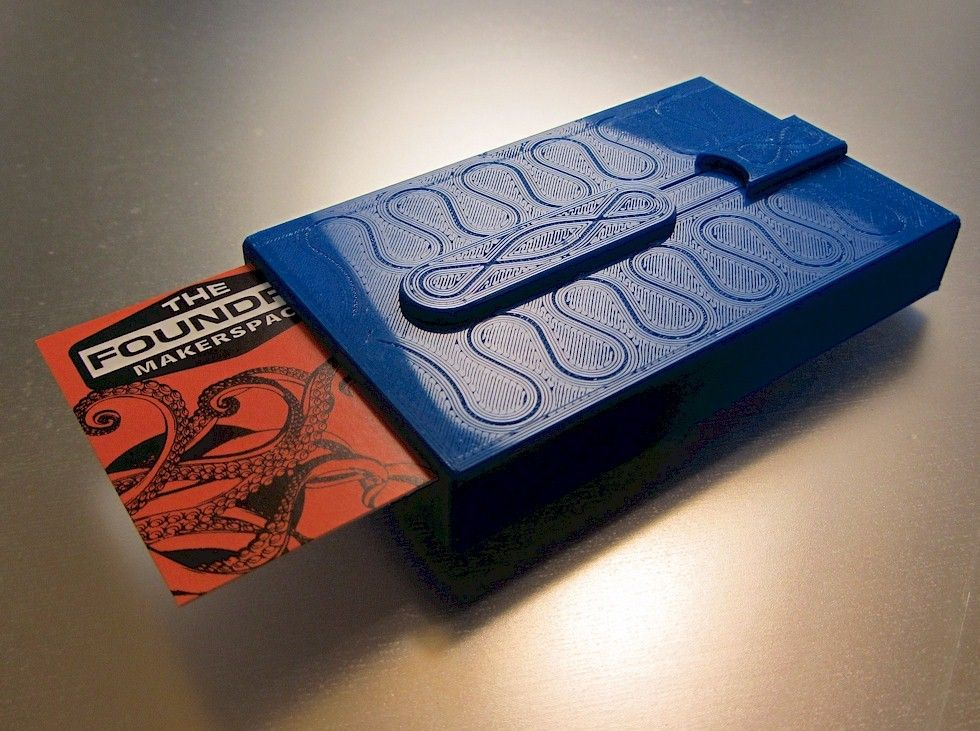 Stiletto+Business+Card+Case+by+LoboCNC.   3D Printing   Pinterest ...
