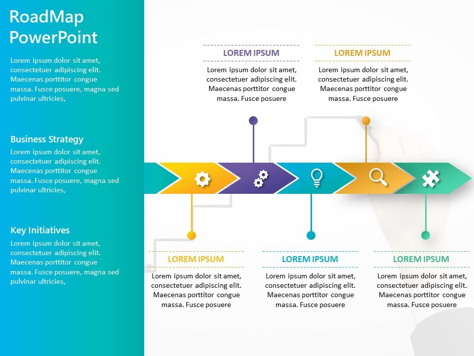 Business Roadmap Powerpoint Template 13 Powerpoint Powerpoint