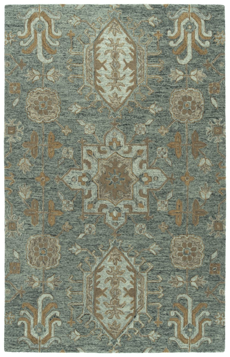 Kaleen Chancellor Cha07 102 Pewter Green Area Rug Colorful Rugs Green Rug Hand Tufted Rugs