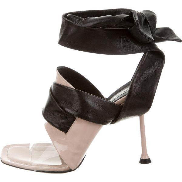 Pre-owned - Black Leather Heels Balenciaga CdLvw