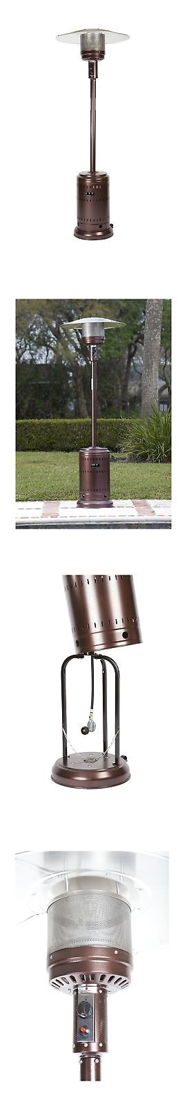 Patio Heaters 106402: Fire Sense Hammer Tone Bronze Commercial Patio Heater  New  U003e BUY
