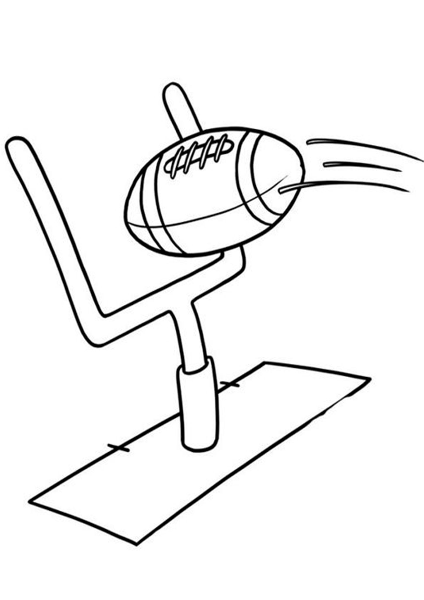 Free Easy To Print Football Coloring Pages Football Coloring Pages Sports Coloring Pages Cute Coloring Pages