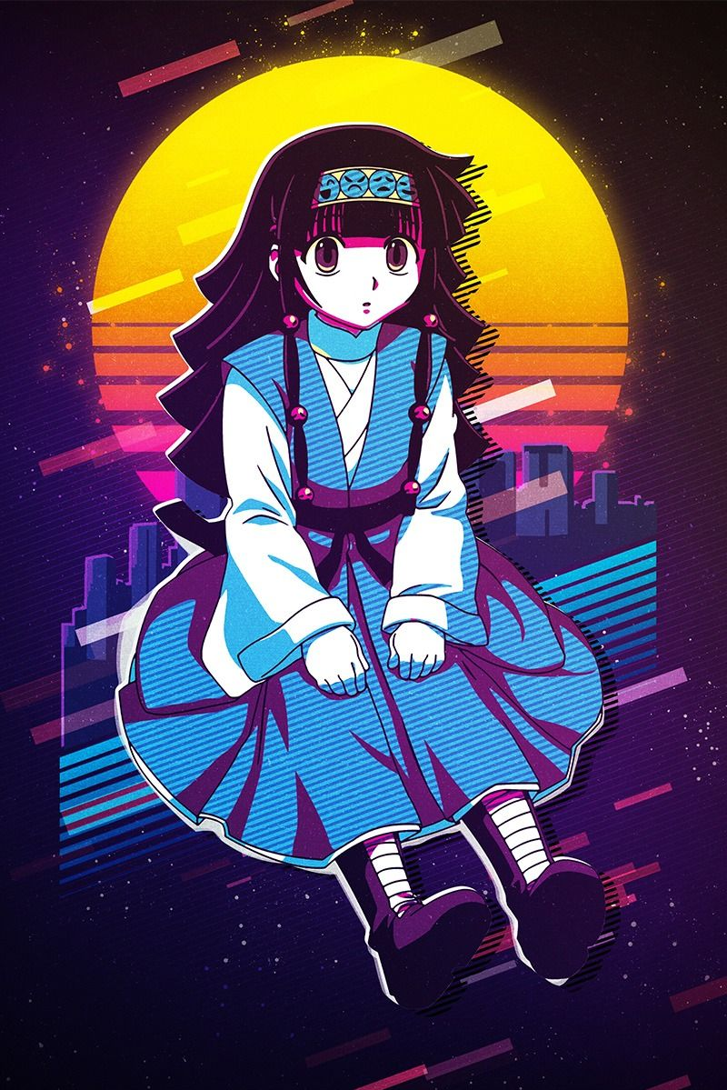 Alluka Zoldyck Pop Art Poster Print metal posters in