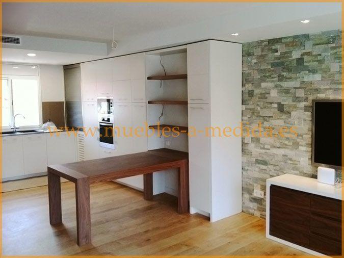 Muebles de cocina y comedor a medida cocinas pinterest for Cocina comedor integrados