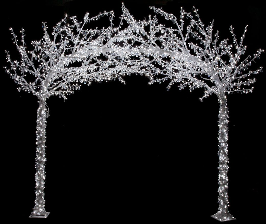 Crystal Led Lighted Arch By Autograph Foliages Crystal