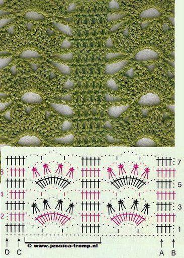 مجموعة غرز كروشيه كوليكشن غرز كروشيه صور غرز كروشيه جنان Crochet Crochet Diagram Crochet Patterns