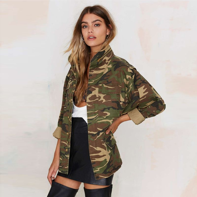 Loose Camouflage Print Jacket | in 2020