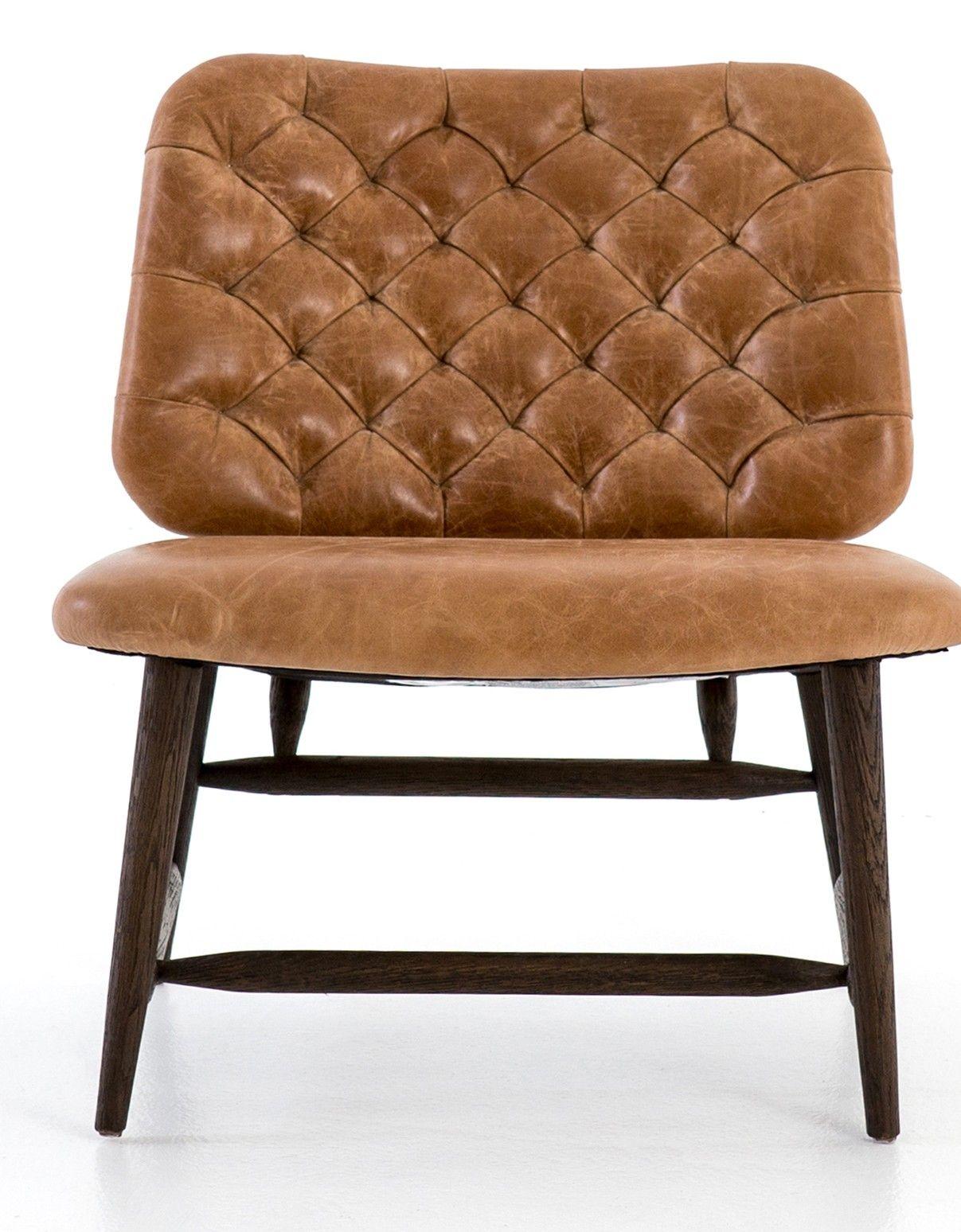 Best Nikole Chair Cognac Chair Accent Chairs Oak Furniture 400 x 300