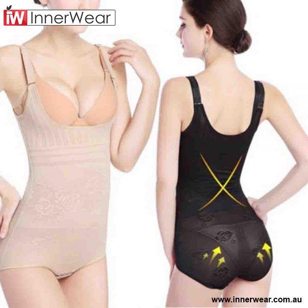 ec6e15c9b Hot Women Firm Tummy Control Body Shapers Slimming Full Slip BodySuits  Shaper  gt  gt