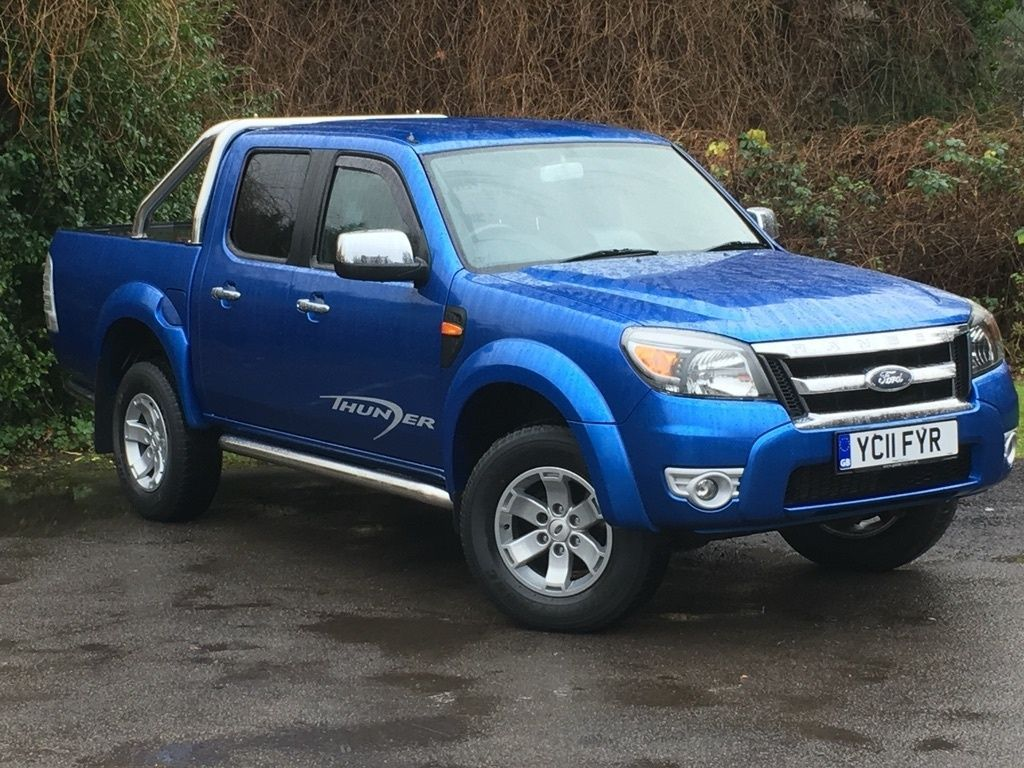 2010 Ford Ranger 2 5 Tdci Thunder Double Cab Uk Version 2010 Ford Ranger Ford Ranger Ranger