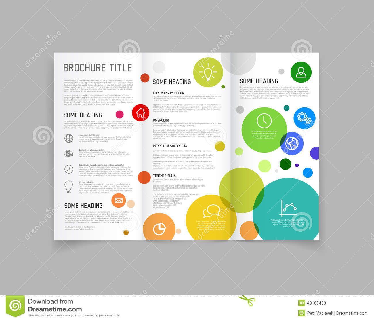 three fold flyer templates free