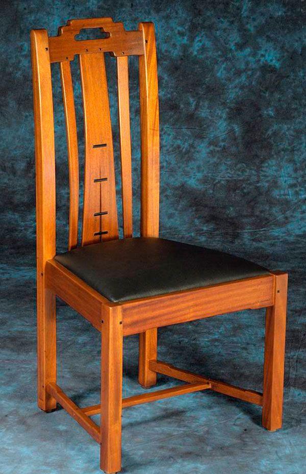 Peart Rendition Of G G Gamble House Chairs Craftsman Furniture Arts And Crafts Furniture Craftsman Style Furniture