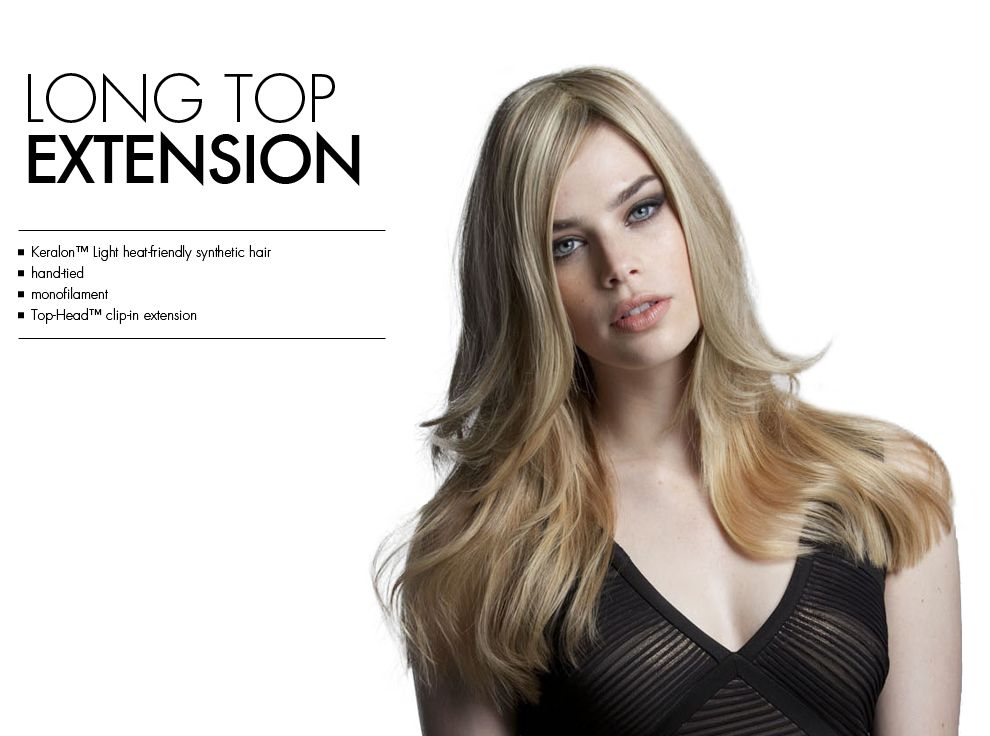 Long Top Extension By Tabatha Coffey Hair Extensions Top Of The