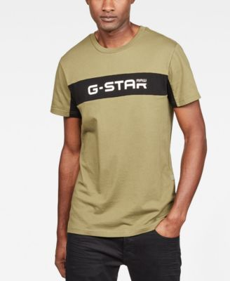 G Star Raw Men's Colorblocked Logo Graphic T Shirt, Created