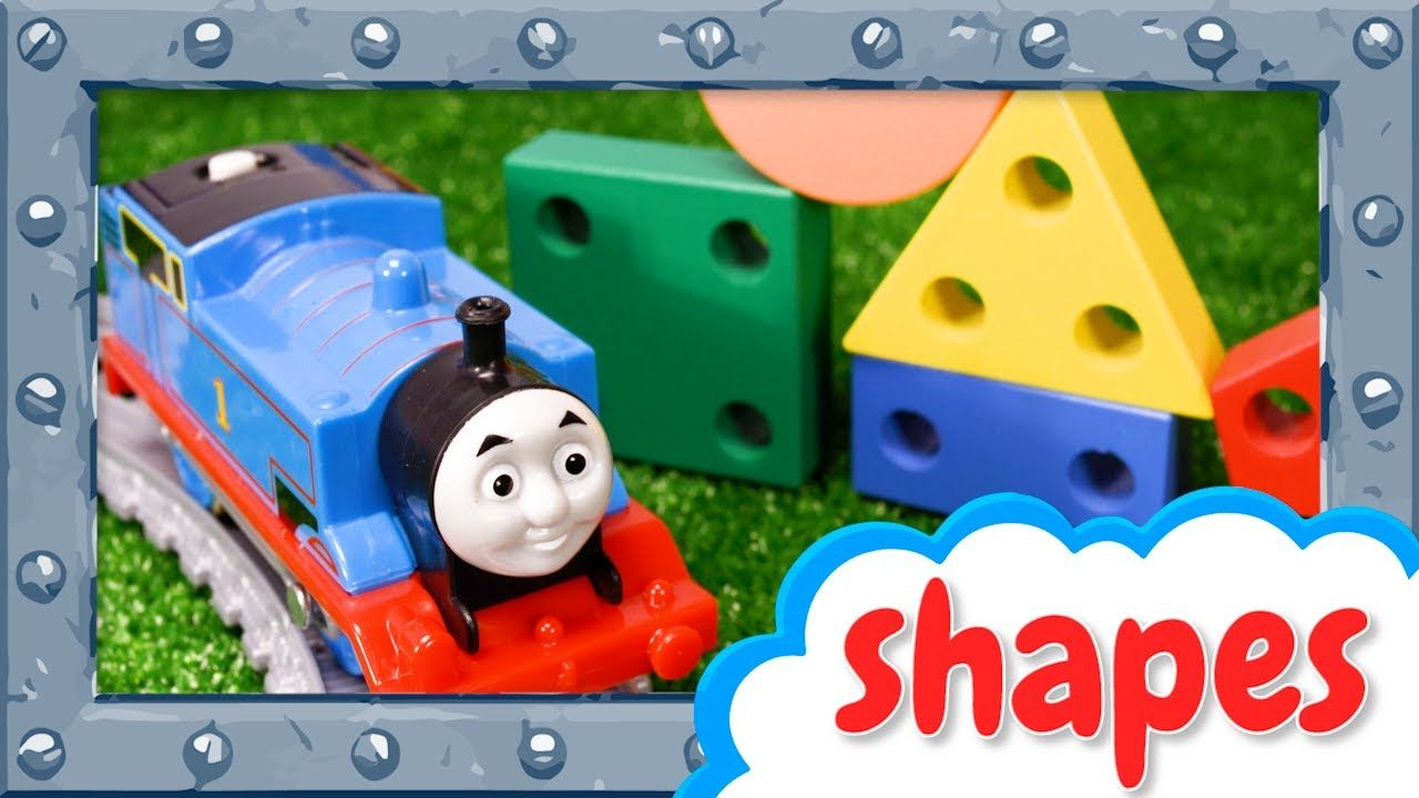 Shapes and Colors with Thomas the Tank Engine - Learning video for ...