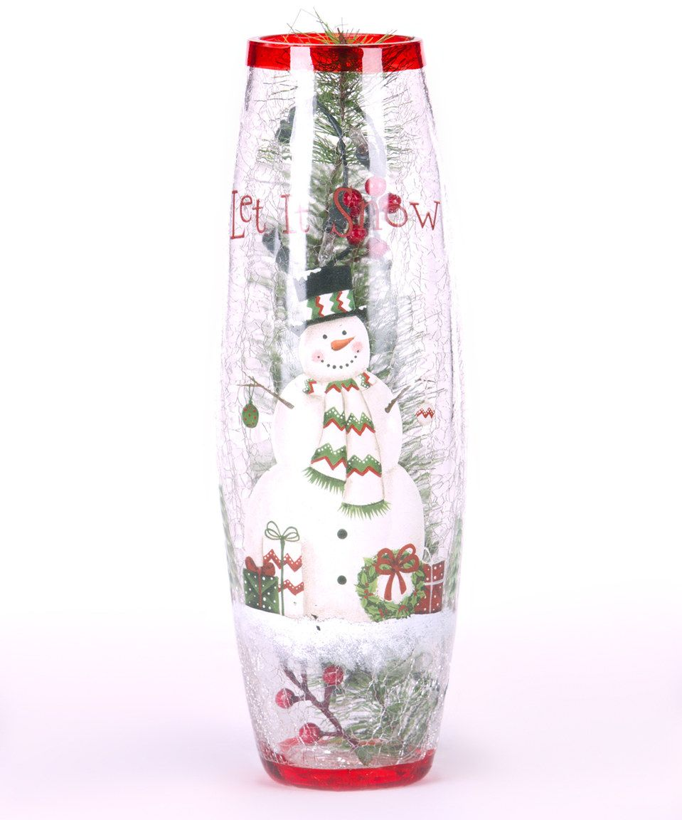 Take a look at this Lighted Snowman Décor today!