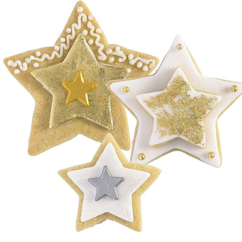 Lakeland Star Shaped Cookie & Biscuit Cutters (Various Sizes) x 5 in Home, Furniture & DIY, Cookware, Dining & Bar, Baking Accessories   eBay