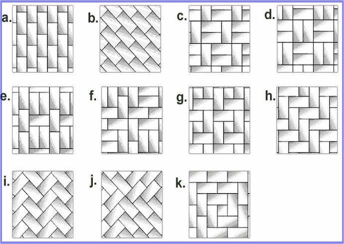 Pattern Potential Subway Backsplash Tile Subway Tile Patterns