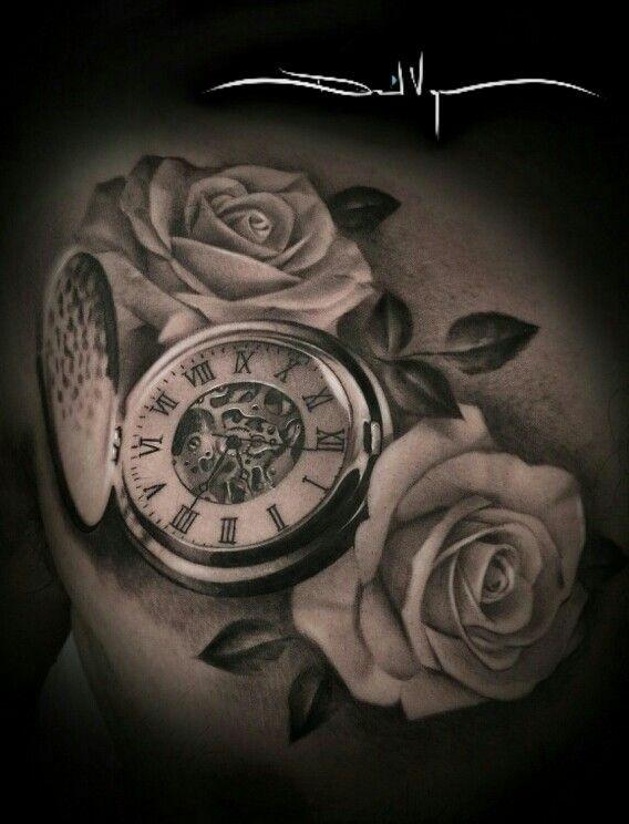 Taschenuhr herz tattoo  Pin von spring4711 auf Tattoo, Art, Sketches, Mandala, Avatar ...