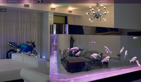 Attractive 25 Rooms With Stunning Aquariums   Decoholic