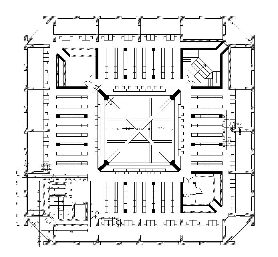 exeter library louis kahn cad design free cad blocks exeter library louis kahn cad design free cad blocks drawings details