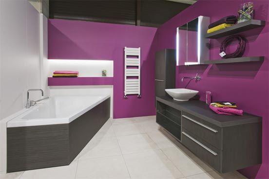 Comment choisir l clairage ad quat pour chaque pi ce for Salle de bain mauve