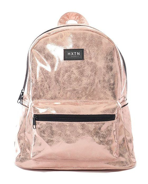 Amazon.com | iHeartRaves Rose Gold Mini Backpack Pink | Casual Daypacks
