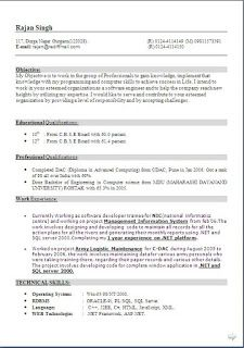 resume writing service sample template example ofbeautiful curriculum vitae cv format with career objective for - Science Resume Writing Service