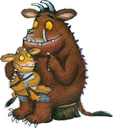 The Gruffalo illustrated by Axel Scheffler Illustrations
