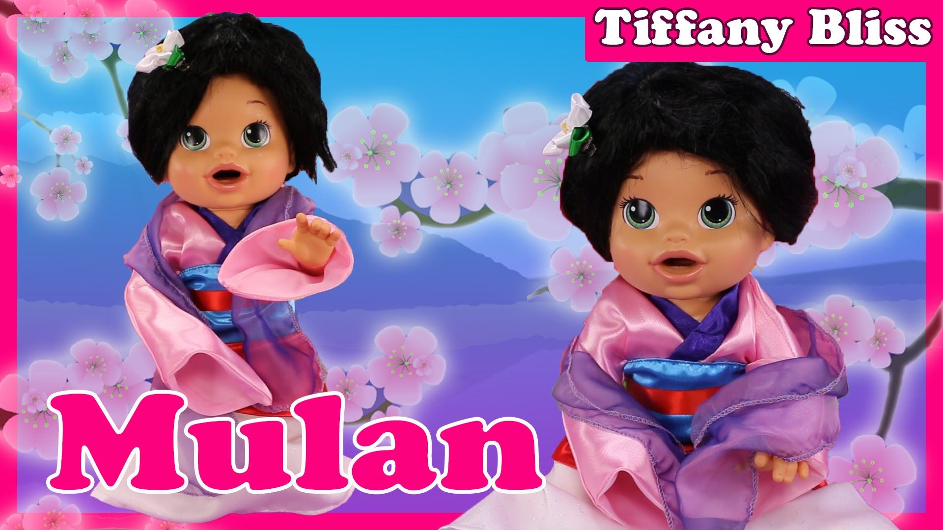 Mulan Custom Baby Alive Doll Eats Play Doh Poops Blind Bags Surprise Toys Baby Alive Dolls Baby Alive Custom Baby