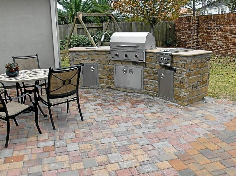 Pavestone Outdoor Kitchen Check more at https://rapflava.com/2741 ...