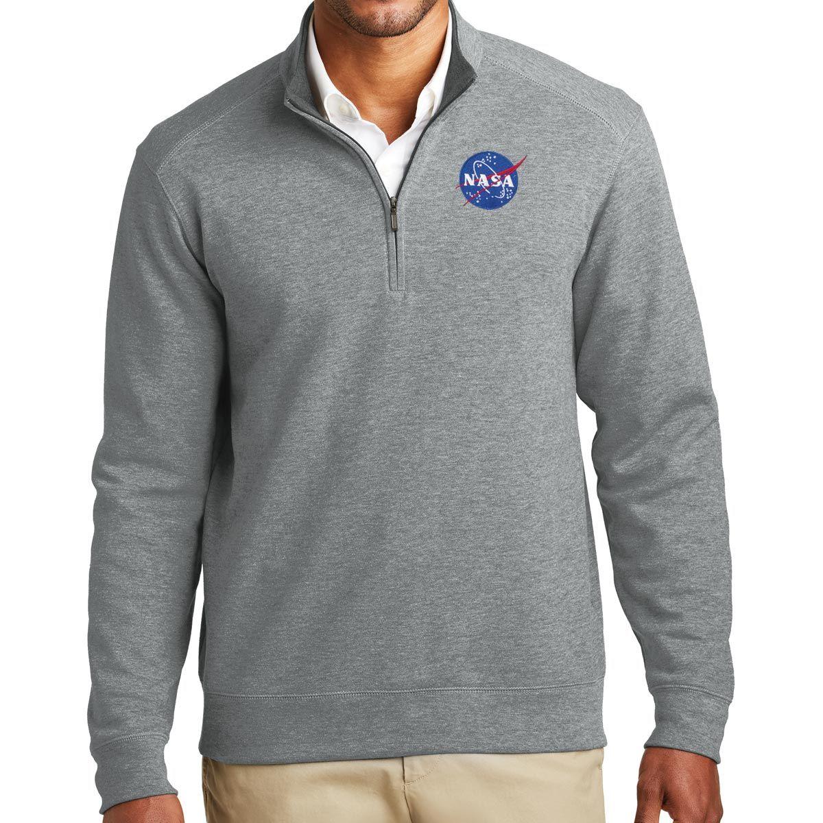 NASA WORLD SPACE  LOGO ASTRONAUT PRINT  TRENDY GEEK  MENS UNISEX  SWEAT SHIRT