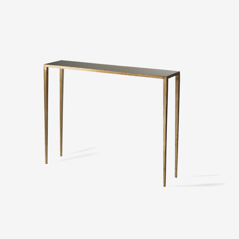 Wohnzimmertische Porta Porta Romana Cct08 Salvatore Console Table French Brass With
