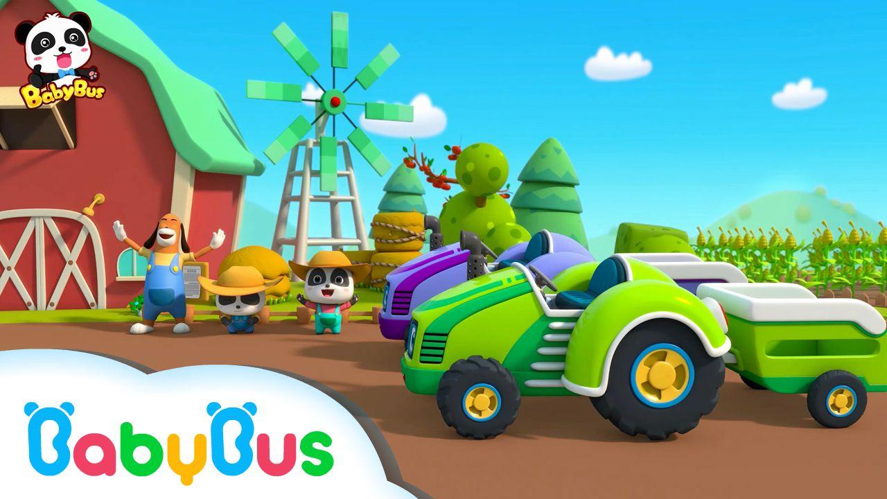 La GranjaCanción Educación Para Tractores Infantil Niños En Los SGpVUMqz