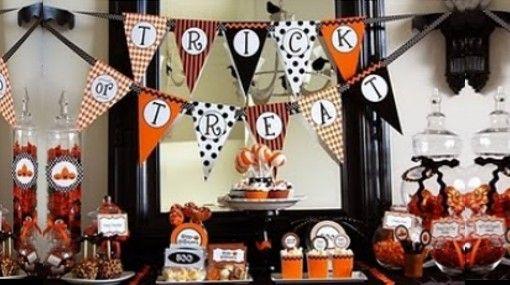 Decoracion de fiestas motivo halloween buscar con google - Decoracion fiesta halloween ...