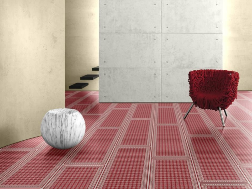 Red hot floorings can invoke passion. Featuring laminate  flooring from Parador, Goodrich.