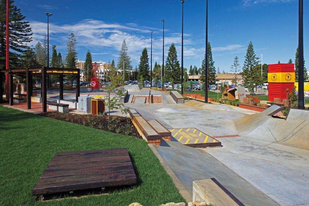 "Freo's ""Happy Park"" Esplanade Youth Plaza Urban design"