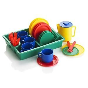 24 Piece Set LER0294 Learning Resources Play Dishes